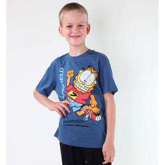 tričko chlapčenské TV MANIA - Garfield - Blue, TV MANIA