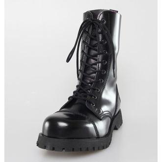 topánky NEVERMIND - 10 dierkové - Black Polido, NEVERMIND