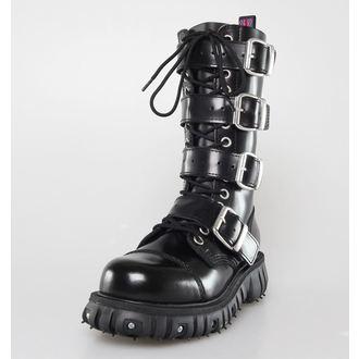 topánky NEVERMIND - 14 dierkové - Polido Black, NEVERMIND