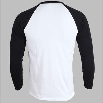 tričko pánske s dlhým rukávom Iron Maiden - Piece Of Mind - White - IMRL02
