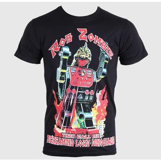 tričko pánske Rob Zombie - Lord Dinosaur - Black - ROCK OFF, ROCK OFF, Rob Zombie