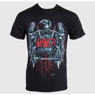 tričko pánske Slayer - Ammunition Eagle - Black, ROCK OFF, Slayer