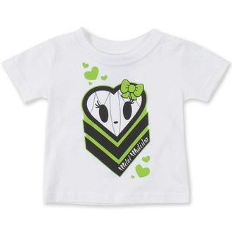 tričko detské (dievčenská ) METAL MULISHA - HALIE HEART, METAL MULISHA