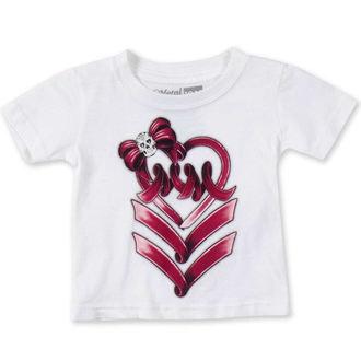 tričko detské (dievčenská ) METAL MULISHA - RIBBON DANCER, METAL MULISHA