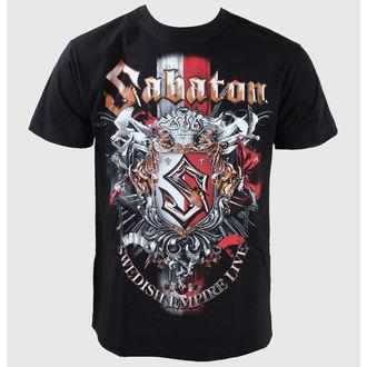tričko pánske Sabaton -Swedisch Empire Live - Black, CARTON, Sabaton