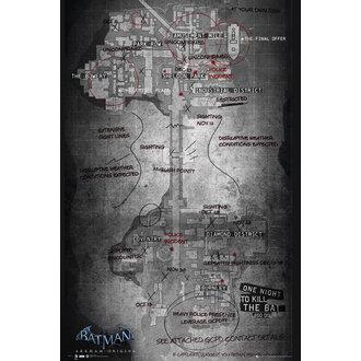 plagát Batman Origins - Map, GB posters
