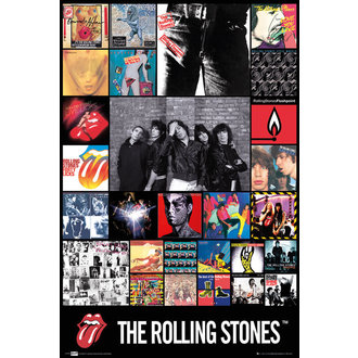 plagát The Rolling Stones - Diskography Maxi, GB posters, Rolling Stones