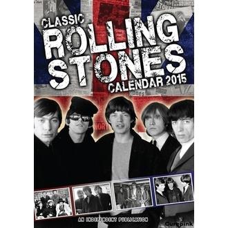 kalendár na rok 2015 ROLLING STONES, NNM, Rolling Stones