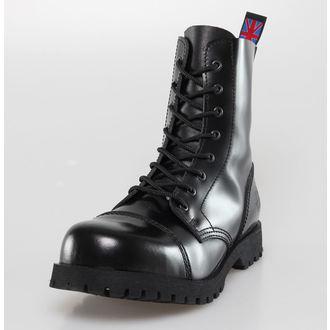 topánky NEVERMIND - 8 dierkové - Black Polido, NEVERMIND