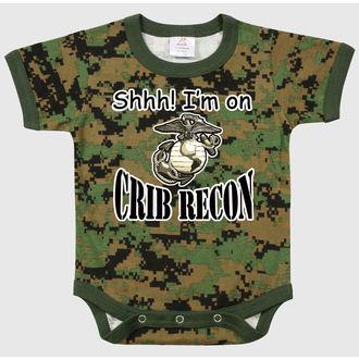 body detské ROTHCO - CRIB RECON - W DIGITAL, ROTHCO