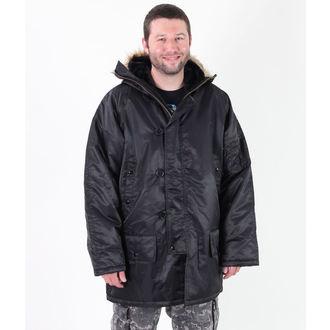 bunda pánska zimný ROTHCO - N-3B PARKA - BLACK, ROTHCO