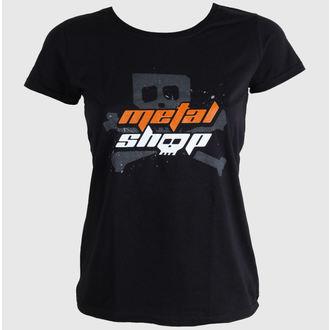 tričko dámske METALSHOP.CZ, METALSHOP
