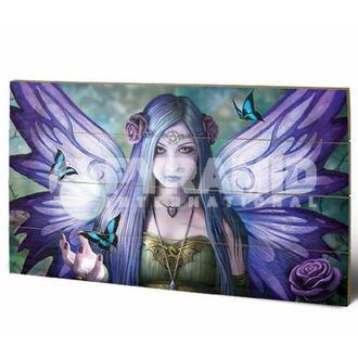 drevený obraz Anne Stokes - Mystic Aura - PYRAMID POSTERS, ANNE STOKES