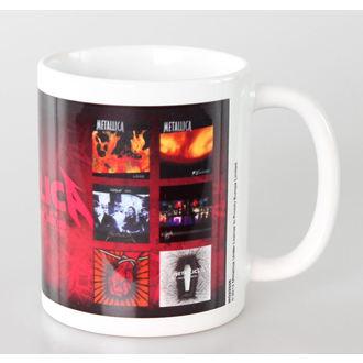 hrnček Metallica - Albums - PYRAMID POSTERS, PYRAMID POSTERS, Metallica