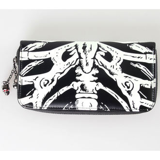 peňaženka BANNED - Glow In The Dark Skeleton, BANNED