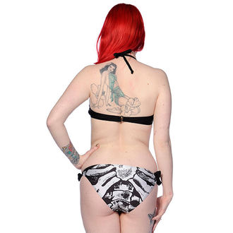 plavky dámske BANNED - Ribcage - Black, BANNED
