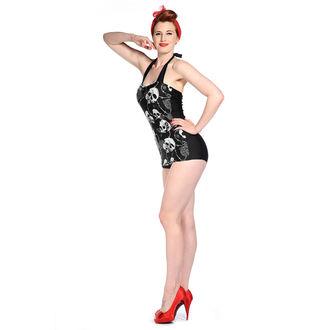 plavky dámske BANNED - Skull Roses - Black, BANNED