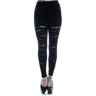 nohavice dámske (legíny) BANNED - Slashed - Black, BANNED