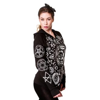 mikina dámska BANNED - Pentagram - Black, BANNED