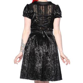 šaty dámske BANNED - Black Ivy Cross Gothic, BANNED
