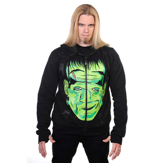 mikina pánska BANNED - Frankenstein - Black