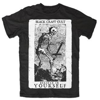 tričko pánske BLACK CRAFT - Believe In Si - Black - MT003BF