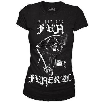 tričko dámske BLACK CRAFT - Fun in Funeral - Black, BLACK CRAFT