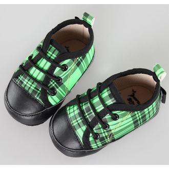 topánky detské LITTLE DIAMOND - Black / Green - 59137-011, LITTLE DIAMOND