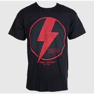 tričko pánske AC/DC - SYDNEY - BLACK - LIVE NATION, LIVE NATION, AC-DC