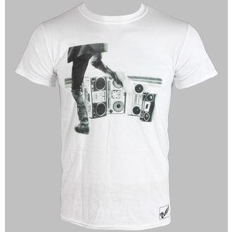 tričko pánske THE CLASH - HITS BACK JUMBO - WHITE - LIVE NATION, LIVE NATION, Clash