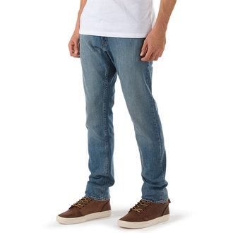 nohavice pánske -jeansy- VANS - V46 Taper - INDIGO LIGHT, VANS