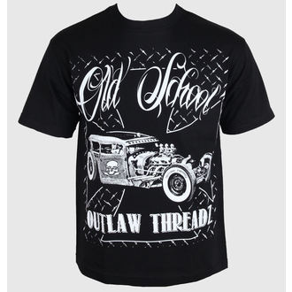 tričko pánske Outlaw Threadz - Old School, OUTLAW THREADZ