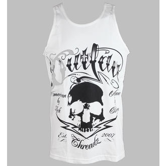 tielko pánske Outlaw Threadz - Tattoo - White, OUTLAW THREADZ