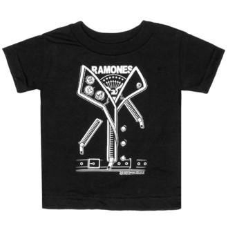 tričko detské SOURPUSS - Ramones - Punker - Black, SOURPUSS, Ramones