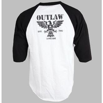 tričko pánske s 3/4 rukávom Outlaw Threadz - Crest, OUTLAW THREADZ