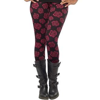 nohavice (legíny) dámske SOURPUSS - Omni Roses - Black, SOURPUSS