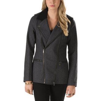 kabátik dámsky jarno/jesenná VANS - Pike Jacket - NEW Charcoal HTR, VANS