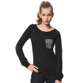tričko dámske s dlhým rukávom HORSEFEATHERS - VERENA, HORSEFEATHERS