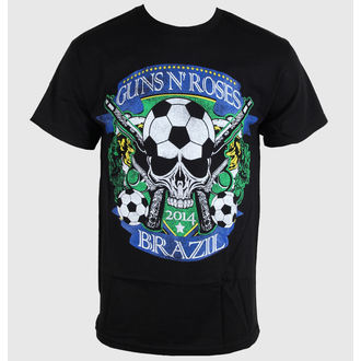 tričko pánske Guns N' Roses - Brazil Cup - Black - BRAVADO, BRAVADO, Guns N' Roses