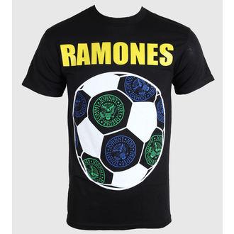 tričko pánske Ramones - Brazil Seals - Blk - BRAVADO, BRAVADO, Ramones