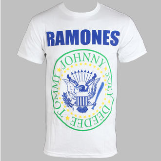 tričko pánske Ramones - Soccer - White - BRAVADO, BRAVADO, Ramones