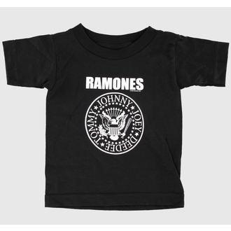 tričko detské Ramones - Seal - Black - BRAVADO, BRAVADO, Ramones