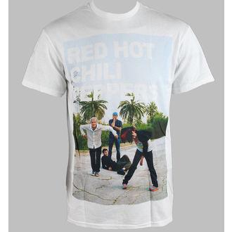 tričko pánske Red Hot Chili Peppers - Drop Out - White - BRAVADO, BRAVADO, Red Hot Chili Peppers