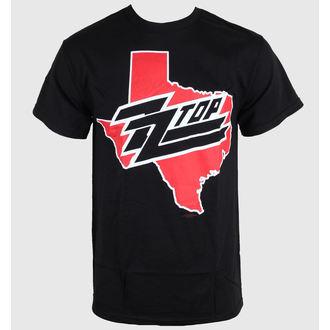 tričko pánske ZZ-Top - Texas - Black - BRAVADO, BRAVADO, ZZ-Top