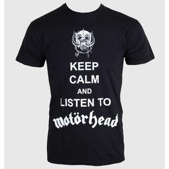tričko pánske Motörhead - Keep Calm - Black - ROCK OFF, ROCK OFF, Motörhead