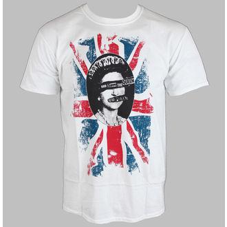 tričko pánske Sex Pistols - Rotten - White - ROCK OFF, ROCK OFF, Sex Pistols