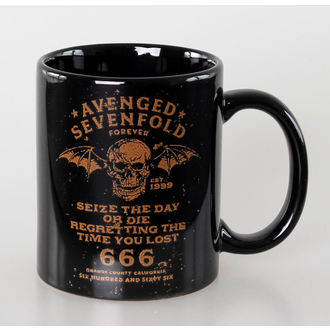 hrnček Avenged Sevenfold - The Day - Blk - ROCK OFF, ROCK OFF, Avenged Sevenfold