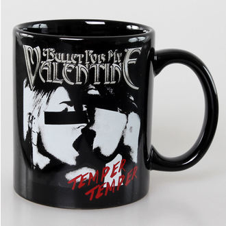 hrnček Bullet For my Valentine - Skull Red Eyes Black - ROCK OFF - BFMVMUG01