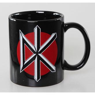 hrnček Dead Kennedys - Logo - Black ROCK OFF, ROCK OFF, Dead Kennedys