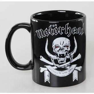 hrnček Motörhead - March or Die - ROCK OFF, ROCK OFF, Motörhead